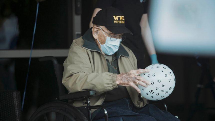 Tiene 104 años y superó a la gripe española, la Segunda Guerra y el coronavirus
