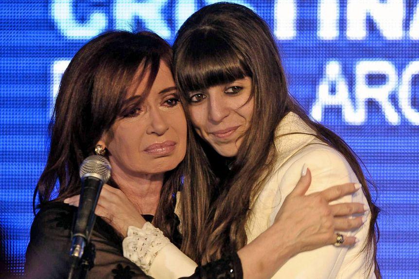 Florencia Kirchner y Helena se reencontraron