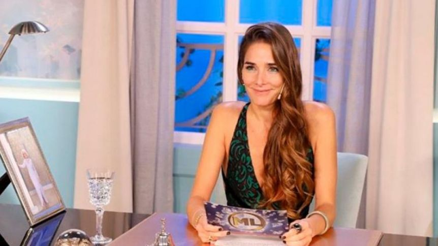 El elegante look de Juana Viale