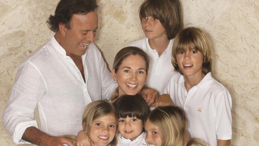 Falleció la suegra de Julio Iglesias