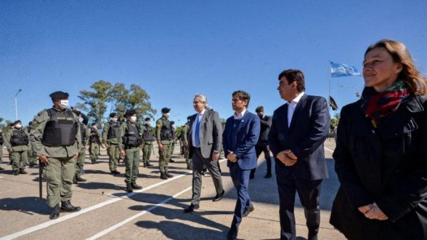 Espinoza se reunió con la gendarmería para ampliar los controles por la cuarentena