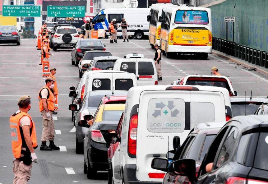 Confirman más controles y restricciones para la circulación entre el Conurbano y la Ciudad