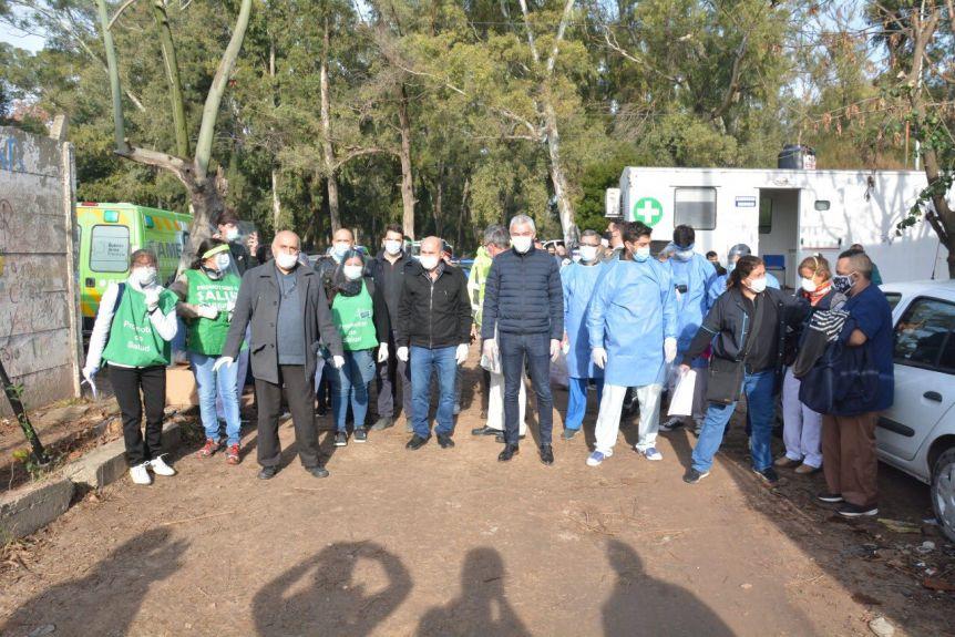 Casa por casa: operativo sanitario conjunto entre dos municipios vecinos