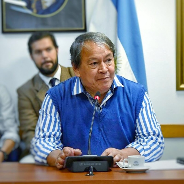 Toty Flores salió a bancar a Carrió: