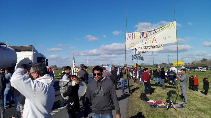 El reclamo de autonomía para Lima volvió a retumbar en la ruta 9