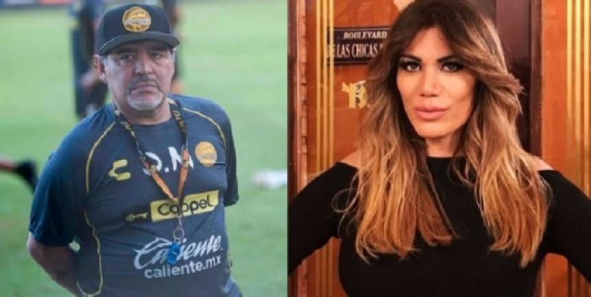 Flor de la V le respondió a Maradona y lo fulminó