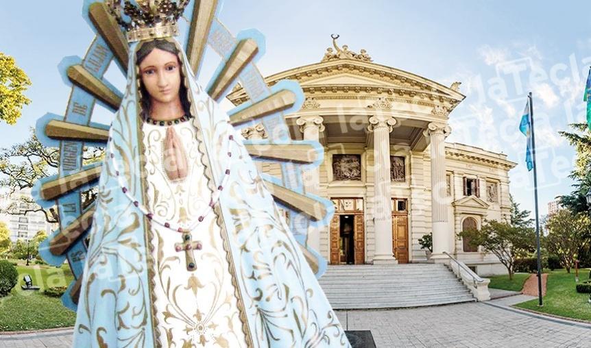 La Virgen que resiste en Diputados
