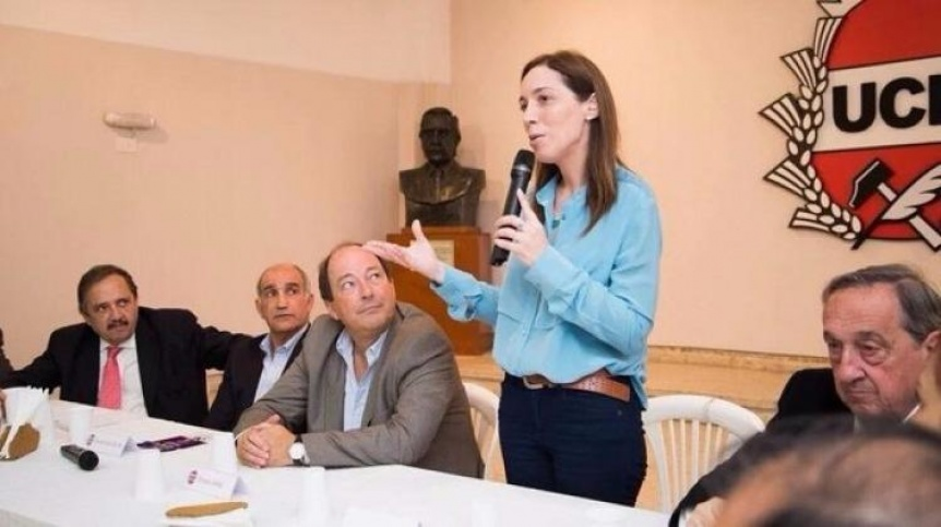 Vidal saludó a la Convención provincial de la UCR, que pidió más Cambiemos