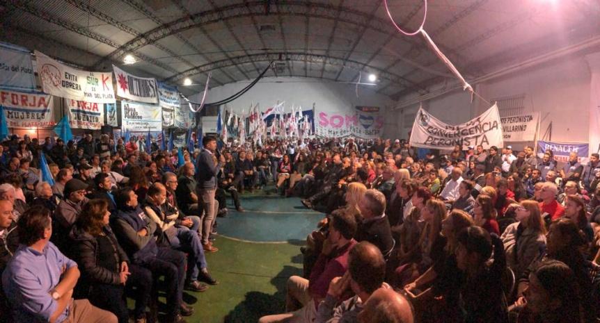 Reacción en cadena: Mar del Plata se suma a la unidad peronista