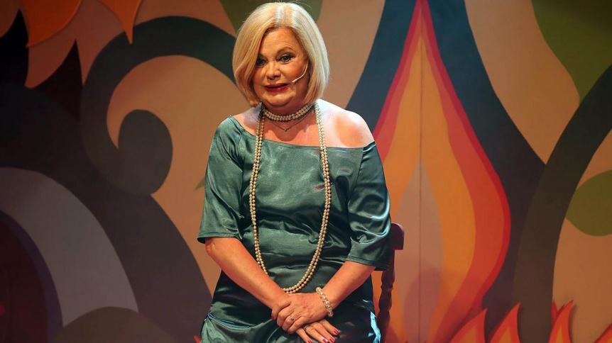 Internaron de urgencia a la actriz Marta González